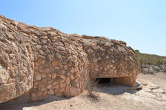 Spanish Civil War Fort Bunker - Historic Architecture History Fighting Stock Photos