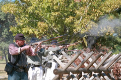 Civil War Gun Battle Stock Photos