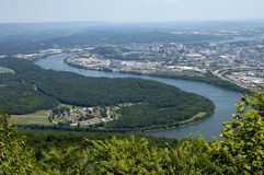 Civil War Lookout Mountain Royalty Free Stock Photos