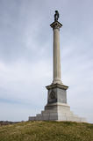 Civil War Memorial in Gettysburg National Battlefield Stock Photography