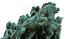 Civil War Memorial Statue Stock Photography