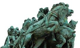 Civil War Memorial Statue Stock Photography