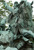 Civil War Memorial Statue Royalty Free Stock Photography