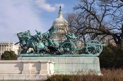 Civil War Memorial Stock Photo