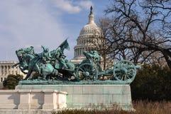 Civil War Memorial Washington DC stock photography