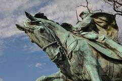 Civil War Memorial Royalty Free Stock Photo