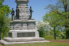 Civil War Monument Royalty Free Stock Photography