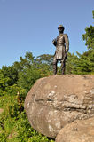 Civil War Monument at Little Round Top, in Gettysburg, Pennsylvania Stock Photos