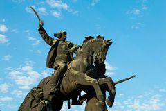 Civil War Monument stock photography