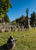 Civil War Monument - Sleepy Hollow Cemetery - Sleepy Hollow, NY Stock Photos