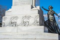 Civil War Monument. Stock Photos