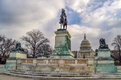 Civil War Monument in Washington D.C. stock photography