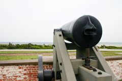 Civil War Naval Fort Royalty Free Stock Photo