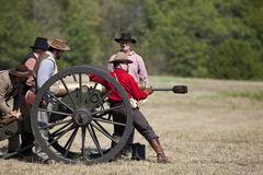 Civil War Re-enactment Royalty Free Stock Images