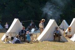 Civil War Re-Enactment Duncan Mills 2017 stock photos