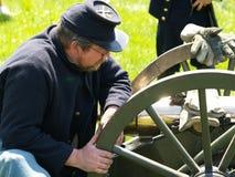 Civil War Re-Enactment Stock Images