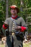 Civil War Reenactment Royalty Free Stock Images