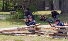 Civil War Reenactment Stock Image
