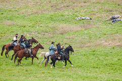 Civil War reenactment Stock Photo