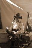 Civil War Reenactor Stock Photos