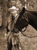 Civil War Reenactor Stock Image