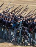 Civil War Reenactors Royalty Free Stock Photo