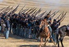 Civil War Reenactors Royalty Free Stock Image