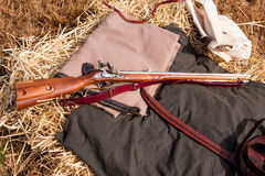 Civil War Rifle royalty free stock images