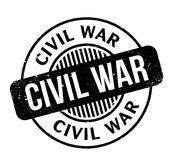 Civil War rubber stamp. Grunge design with dust scratches. Effects can be easily removed for a clean, crisp look. Color is easily changed Stock Images