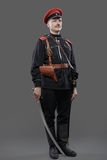 Civil War in Russia, Russian Civil War 1918-1922, White Guard, C Stock Image