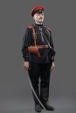 Civil War in Russia, Russian Civil War 1918-1922, White Guard, C. Aptain of General Kornilov (Korniloff) Assault Regiment Stock Image
