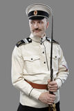 Civil War in Russia, Russian Civil War 1918-1922, White Guard, T. Rooper of 1st General Markov (Markoff) Officers Regiment Stock Image