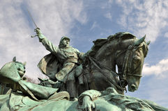 Civil War Soldier Statue Stock Photos