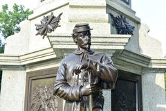 Civil War Soldiers' Monument Brooklyn Royalty Free Stock Photos