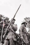 Civil war soldiers Royalty Free Stock Photography