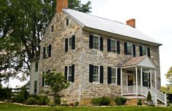 Civil War Stone House - 2 Royalty Free Stock Photo