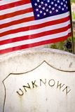 Civil War Tombstone Stock Photography