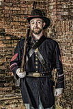 Civil War Union Soldier Stock Photography