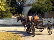 Civil War Weekend Wagon Rides Royalty Free Stock Photos