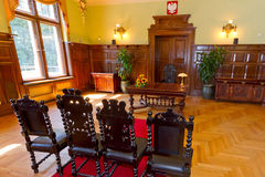 Civil wedding house. Empty civil wedding house in Gdansk, Poland Stock Image