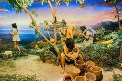 Civilização agrícola chinesa fotos de stock royalty free