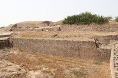 Civilização antiga de Harappa imagens de stock royalty free