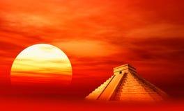 Civilização do Maya ilustração stock