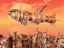 Civilización extraterrestre ilustración del vector