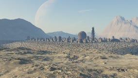 Civilización del desierto Royalty Free Stock Photos