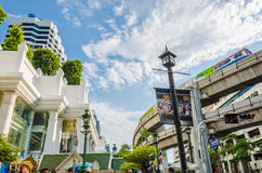 Civilization of the Urban in Bangkok Royalty Free Stock Image