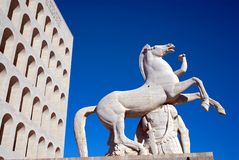 civilt palazzo Ρώμη italiana della Στοκ Φωτογραφίες