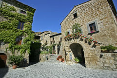 Civita of Bagnoregio Stock Image