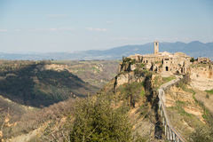 Civita Of Bagnoregio Royalty Free Stock Image