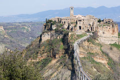 Civita Of Bagnoregio Stock Photo